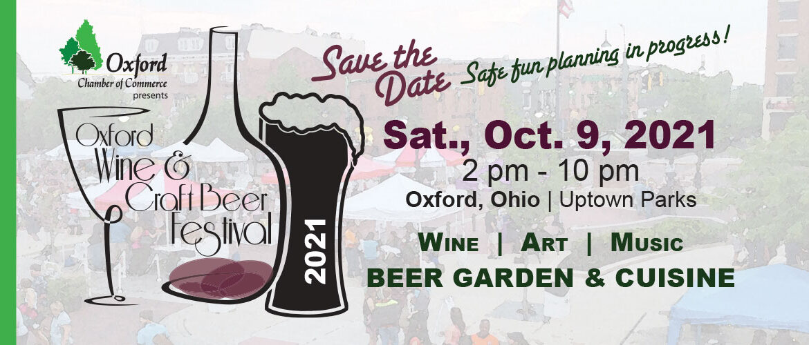 Save the Date Sat., Oct. 9 2021